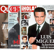 Luis Miguel Paquete De Revistas
