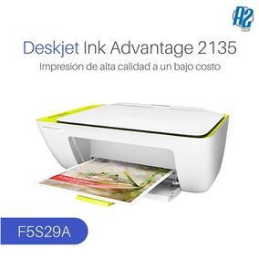 Impresora Todo-en-uno Hp Deskjet Ink Advantage 2135 - F5s29a