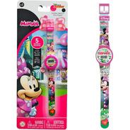 Reloj Mickey Minnie Mouse Disney Digital Original Bigshop