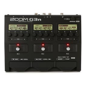 Pedaleira Zoom G3n Para Guitarra - Nota Fiscal E Garantia