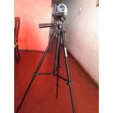 Camara De Video Con Tripode.