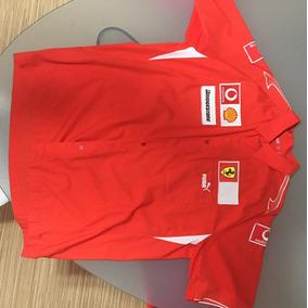 Camisa Escuderia Equipe Ferrari Puma Original Xxl