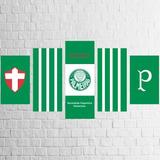 Quadro Palmeiras - Palestra - Tela Canvas