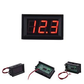Voltímetro Digital Com Remote 0~100v Bateria Som De Carro
