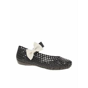Zapatos Melissa Originales Chatitas Flats Con Moño Oferta