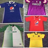 Camisetas De Equipos Colombianos Por Mayor