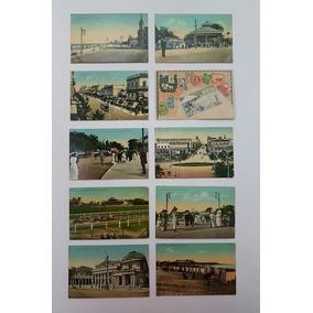 Colecão Cartões Postais Raros Antigos Uruguai Lote 2
