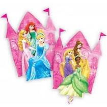 Globos De 14 Castillo Princesas ( 5 Piezas)