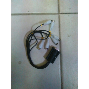 Ramal Cable Capturadora Geovision Rca 8 Canales