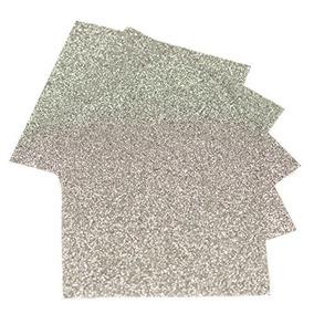 Expresiones Vinilo - Plata - 9 X12 5-pack Siser Glitter H