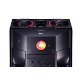 Minicomponente Lg Om7560 1000 W Luces Bluetooth Doble Usb