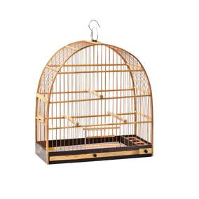 Gaiola Madeira Nº 02 Fibra - Pássaros Pequeno Porte