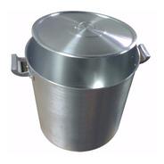 Olla Gastronomica Nº30 De Aluminio 20 Litros Reforzada