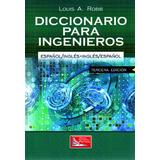 Libro Diccionario Para Ingenieros Español Ingles Env Gratis