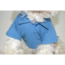 Camiseta Gola Polo Cachorro Pet Dog Gato Camisa Polo