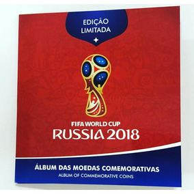 Lançamento! Álbum Completo Das Moedas Copa Da Rússia 2018!