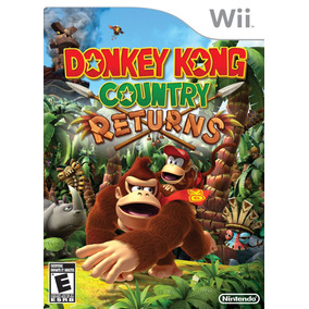 Donkey Kong Country Returns Wii Nuevo Sellado