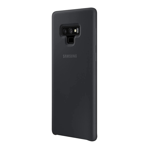 Funda Original Silicone Cover Samsung Note 9 + Vidrio Curvo