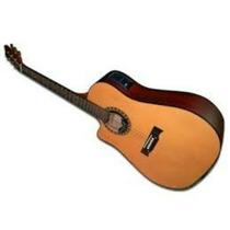 Guitarra Electroacustica Gracia Modelo 115 Zurdo