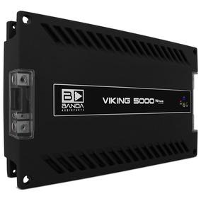 Amplificador Automotivo Digital Banda Viking 5000 Rms 2 Ohms