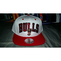 Gorra Snapback Mitchell And Ness Chicago Bulls