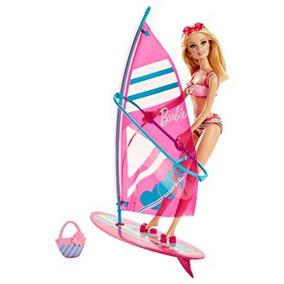 Juguete Barbie Lets Go Windsurf