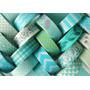 Washi Tape Masking Deco Papel Scrapbooking Acqua Turquesa