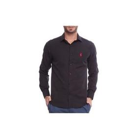Camisa Club Polo Collection Social Out Preto 2