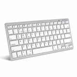 Teclado Inalambrico Bluetooth Compatible Macbook Y Pc