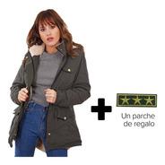 Customs Ba Camperas Mujer Parka Corderito Campera Invierno C