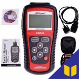 Escaner Automotriz Konnwei Kw808 Obd2 Eobd + Garantia