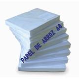 Papel Arroz Em Branco A4 - 100 Folhas
