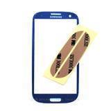 Vidrio Frontal Azul Para Samsung Galaxy S3 Mini I8190