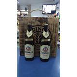 Kit Cerveja Erdinger Caixa De Madeira Mais 2 Cervejas