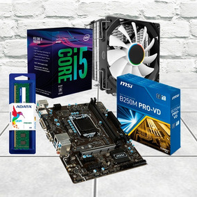 Combo Actualización Core I5 + Mb H110m 1151 + Mem Ddr4 4gb
