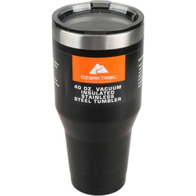 Ozark Trail 40 Oz Stainless Steel Tumbler - Negro