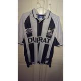 Camiseta Del Santos Fútbol Club De Brasil 1999 # 10 Umbro