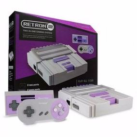 Nintendo Hiperkin Retron 2 Snes / Nes Console ( Cinza )