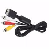 Cable Rca Audio Y Video Playstation Ps1 Ps2 Ps3 Envío Gratis
