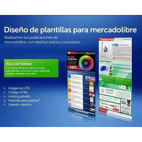 Plantillas Ml- Diseño Web Personalizado Mercado Libre