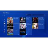 Playstation 4 Slim 500 Gb+2controles+12juegos+cuenta Psn