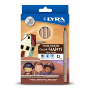 Lapices De Colores Skin Tones Lyra 12 Pzs C/envio Gratis