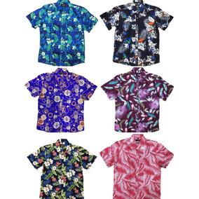 Camisa Manga Curta Masculina Estampada - Camisas Masculinas no ... 44dac0cc34