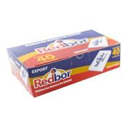 Borracha Escolar Nº 40 Redbor/caixa Com 40 Unidades