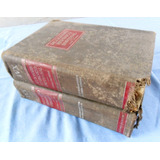 Antiguo Diccionario Hispánico Universal Jackson 2 Tomos