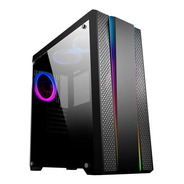 Pc Cpu Gamer 16gb Rx550 2tb  120ssd 750w Intel Kit Led Rgb
