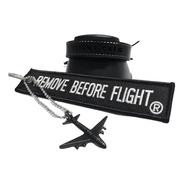 Brazalete Flight Crew & Tag Con Avión - Remove Before Flight