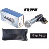 Micrófono Shure Beta 58a Alambrico Profesional Original