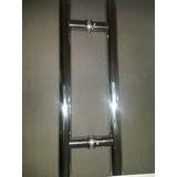 Puxador Para Porta De Vidro H 40 X30 Brilhante