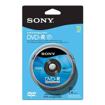 Mini Dvd -r 30min 1 4gb Sony 10dmr30 Campana C/10 +c+